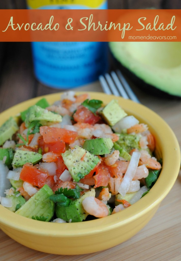 Quick & Healthy Recipe: Avocado & Shrimp Salad