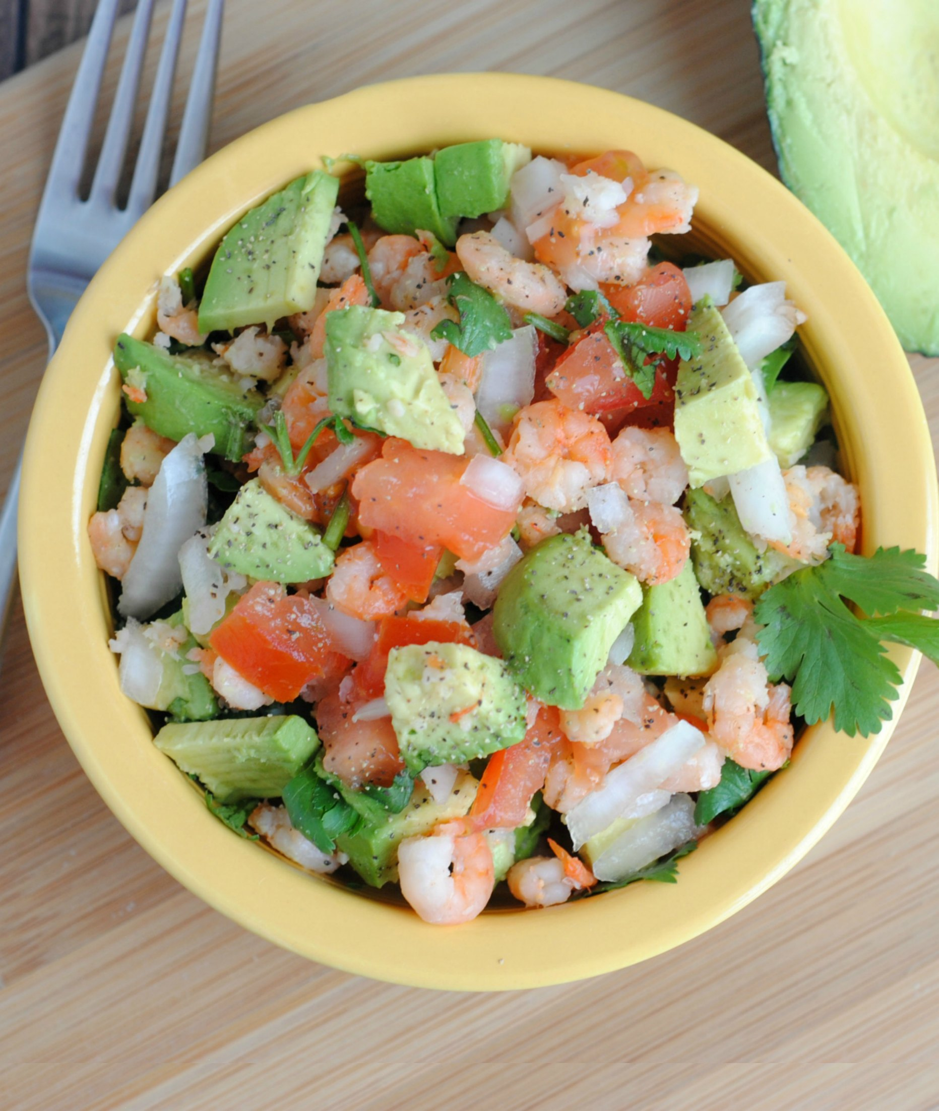 Avocado & Shrimp Salad #Paleo