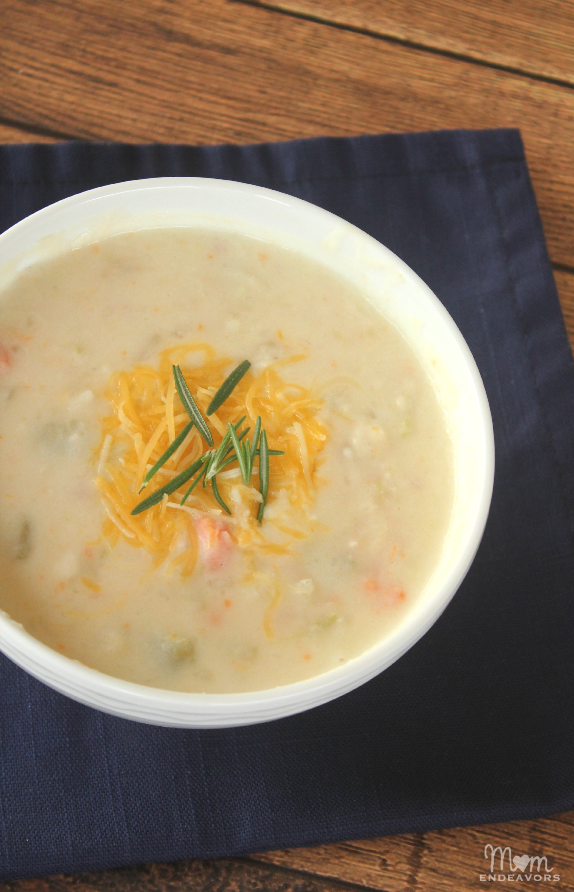 Crock Pot Ham & Potato Soup