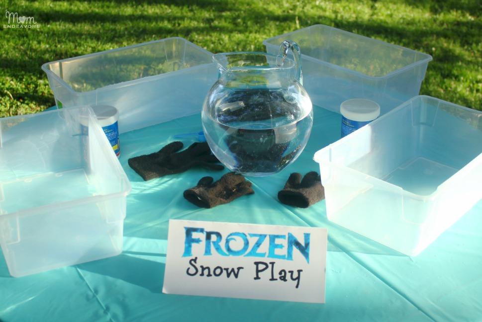 Disney FROZEN Party Snow Play