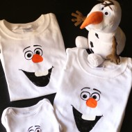 Disney Frozen Craft: DIY Olaf Shirt