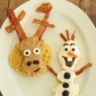Disney's FROZEN Fun Food: Olaf & Sven Waffles