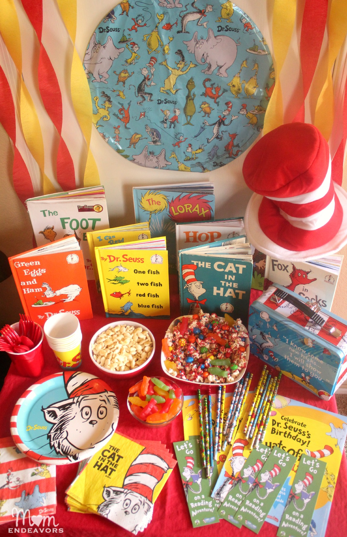 Celebrate Reading with a Dr Seuss Party