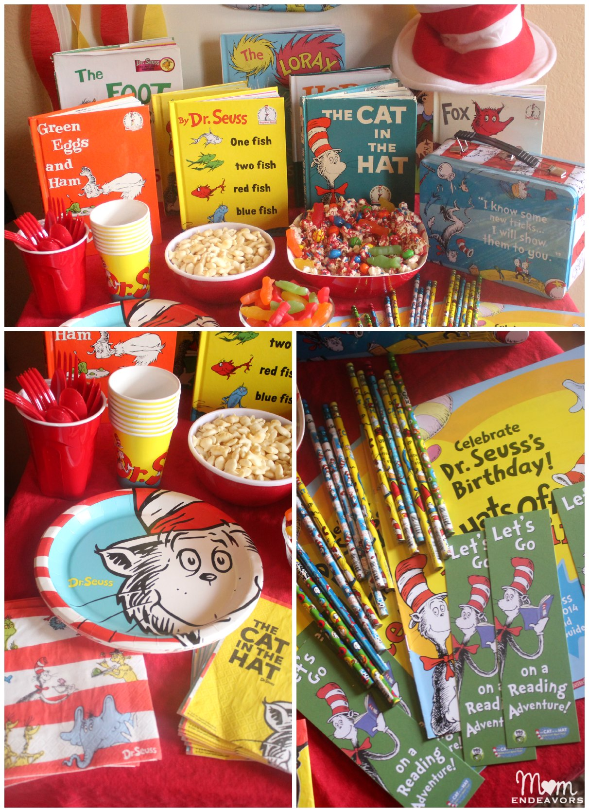 Dr. Seuss Party Decor