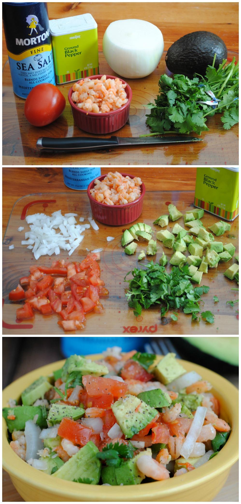 Easy Avocado & Shrimp Salad
