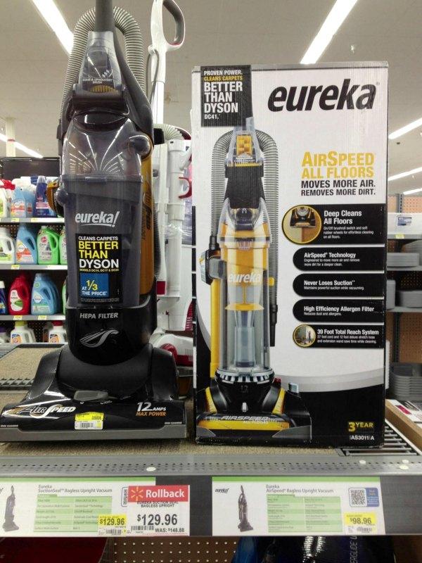 Eureka AirSpeed Vacuum at Walmart