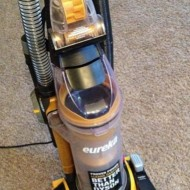 Cleaning up GIANT kid messes with the Eureka AirSpeed All Floors Vacuum