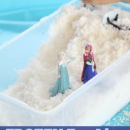 Disney Frozen Fun Activity: Pretend Snow Play