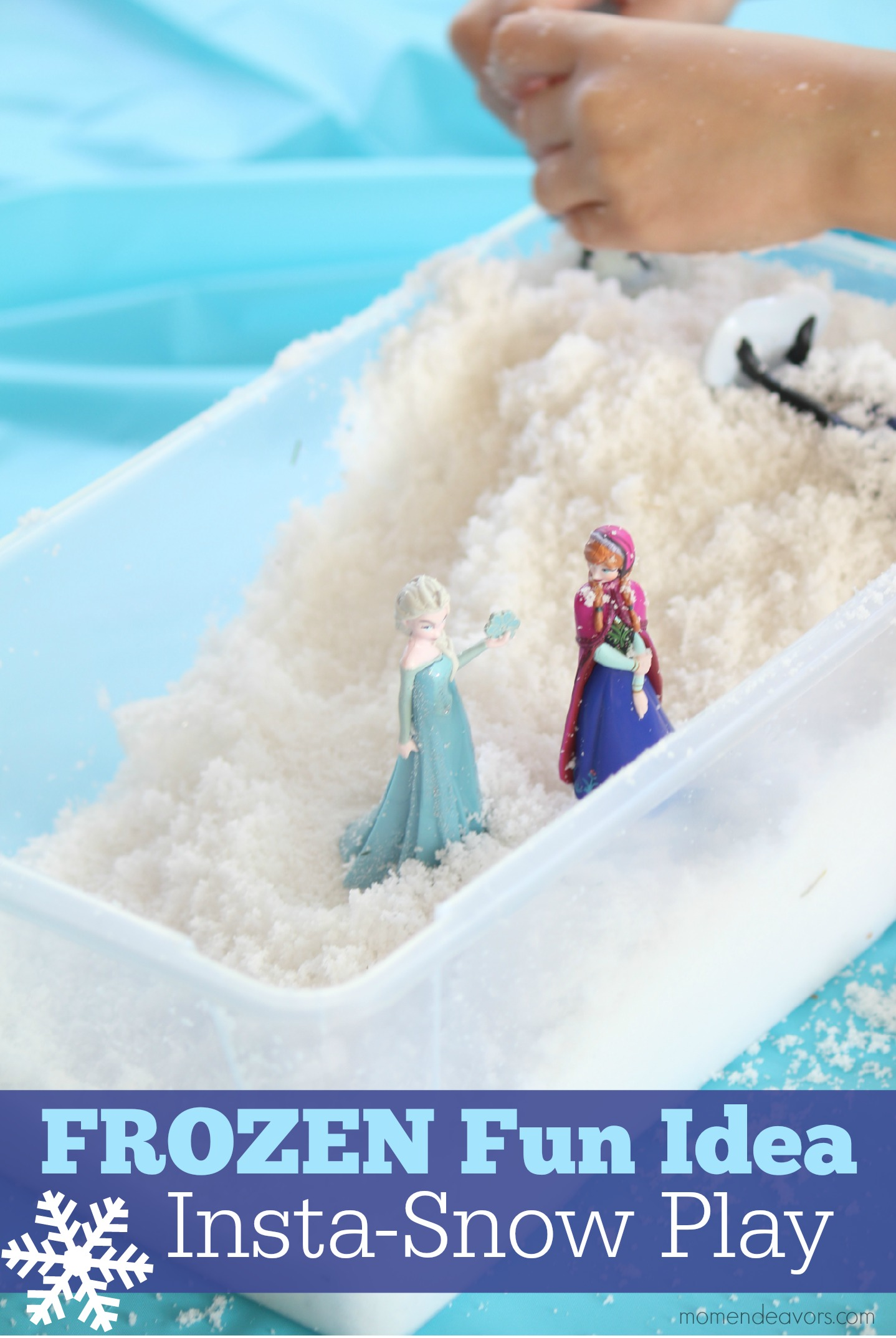 Frozen Activity Pretend Snow Play