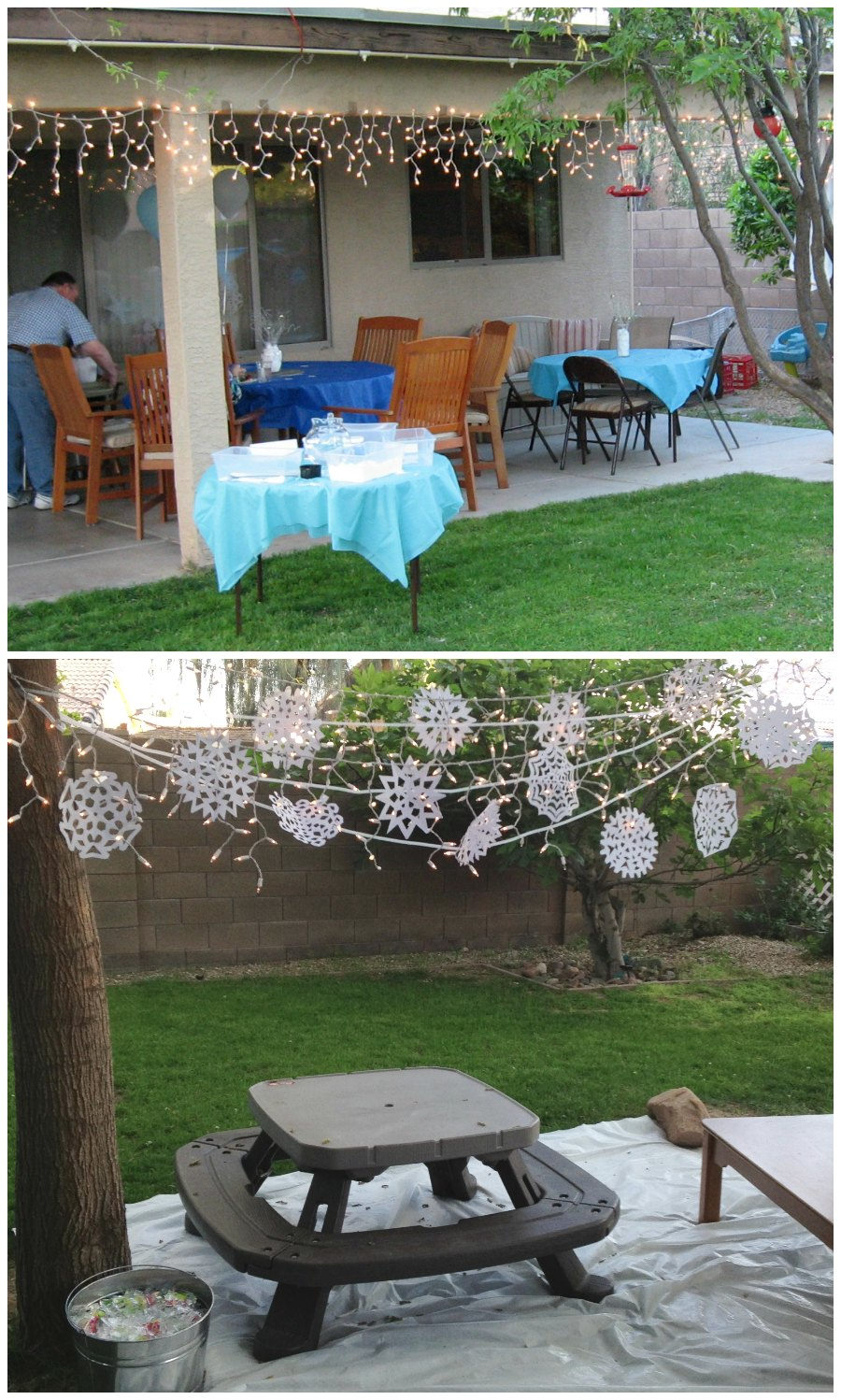 Frozen Party Outdoor Decor