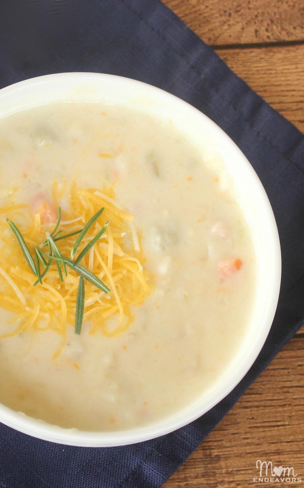 Heathier Ham & Potato Soup