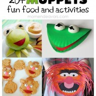 20+ Muppets Fun Food & Activities {Free Printables}