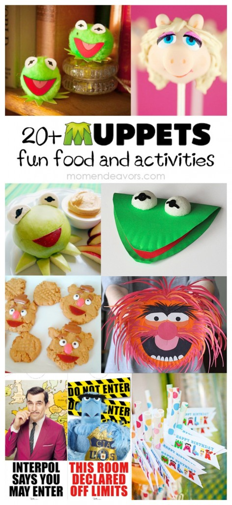 20  Muppets Fun Food  U0026 Activities  Free Printables