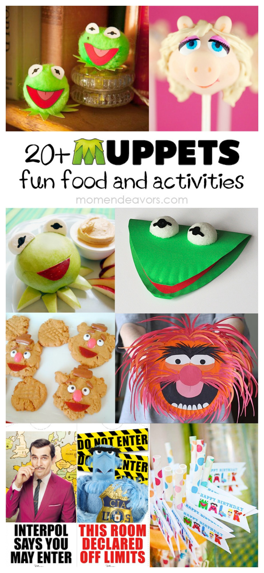 Muppets Fun Foods & Activities