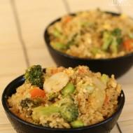 "Quinoa & Vegetable ""Fried Rice"""