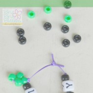 St. Patrick's Day Kids Craft: Lucky Bracelet