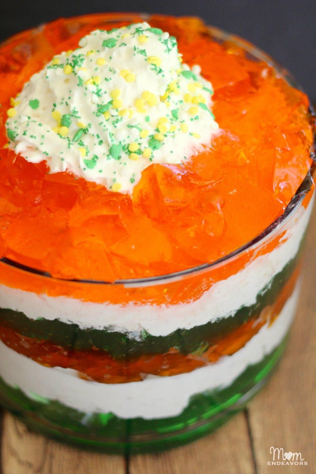 St. Patrick's Day Dessert Trifle