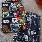 DIY Star Wars Fleece Blanket