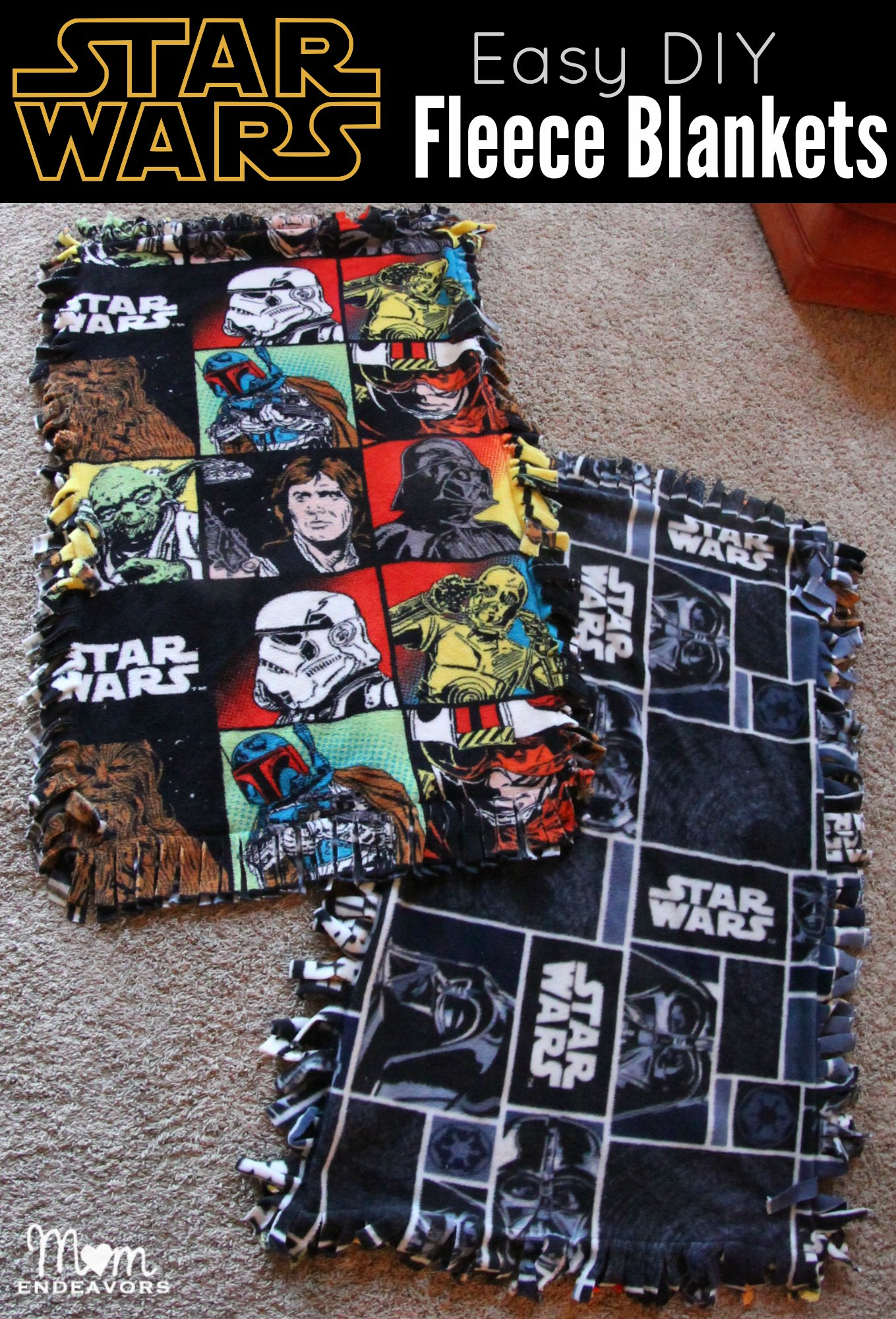 Easy Diy Star Wars Fleece