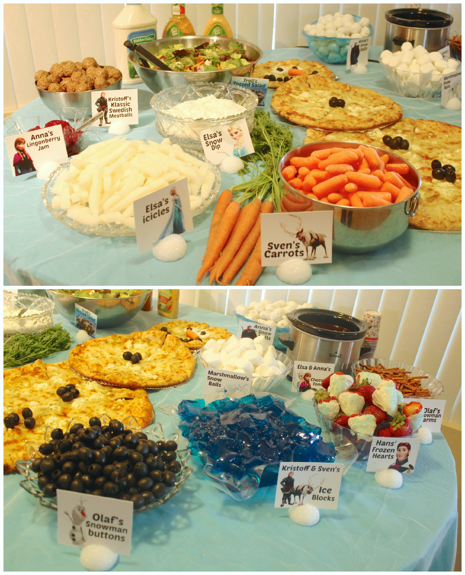 Disney Frozen Food Table