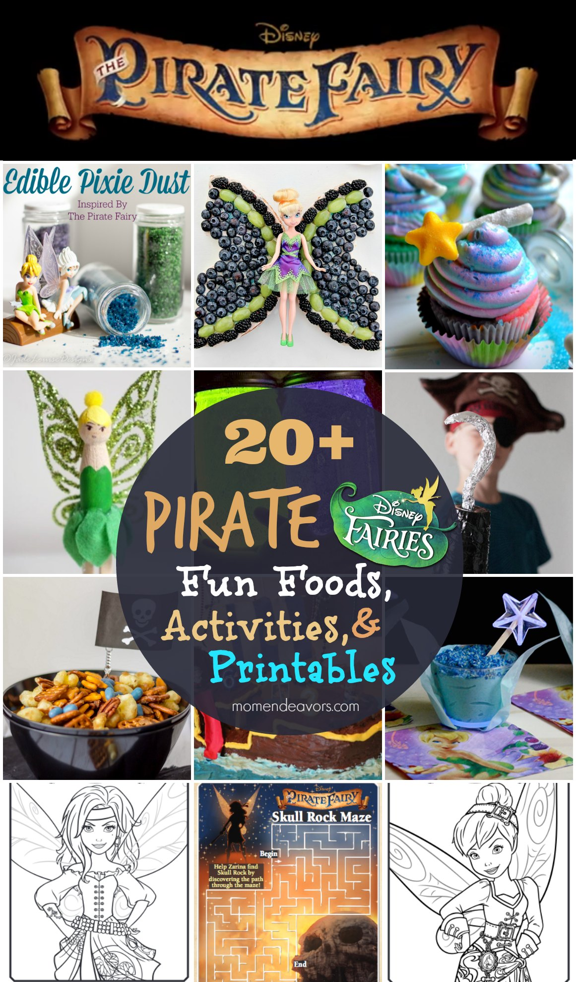 Disneys The Pirate Fairy Fun Foods Activities And Printables