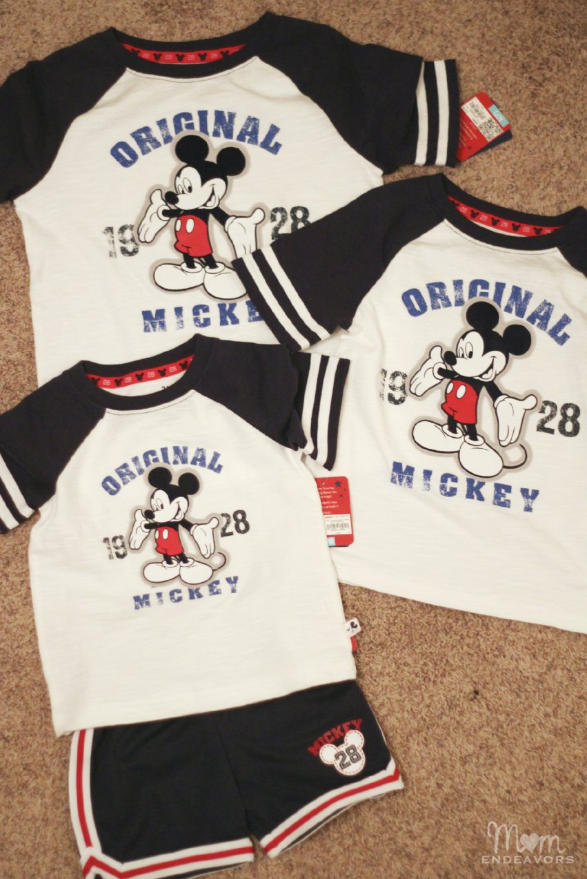 Mickey Shirts from Kohl's