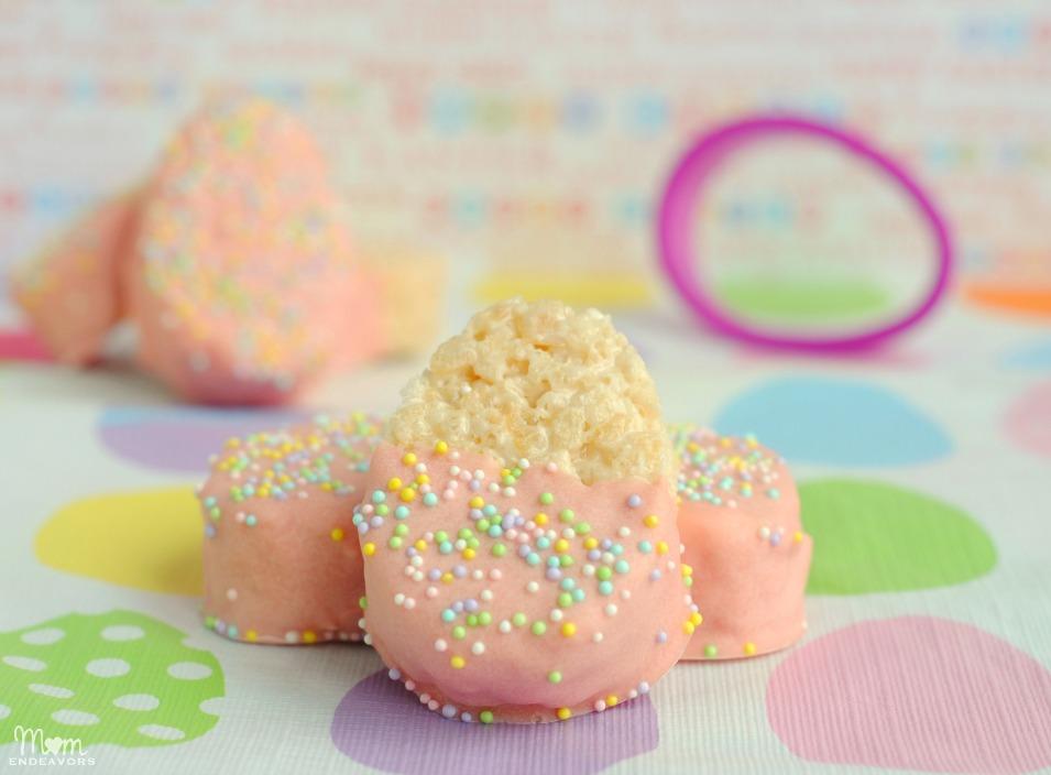Pink Easter Egg Treat