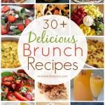 30+ Delicious Brunch Recipes