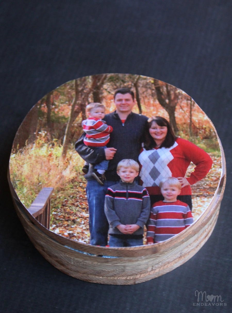 DIY Wooden Coaster gift