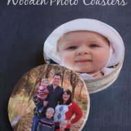 DIY Gift Idea: Wooden Photo Coasters