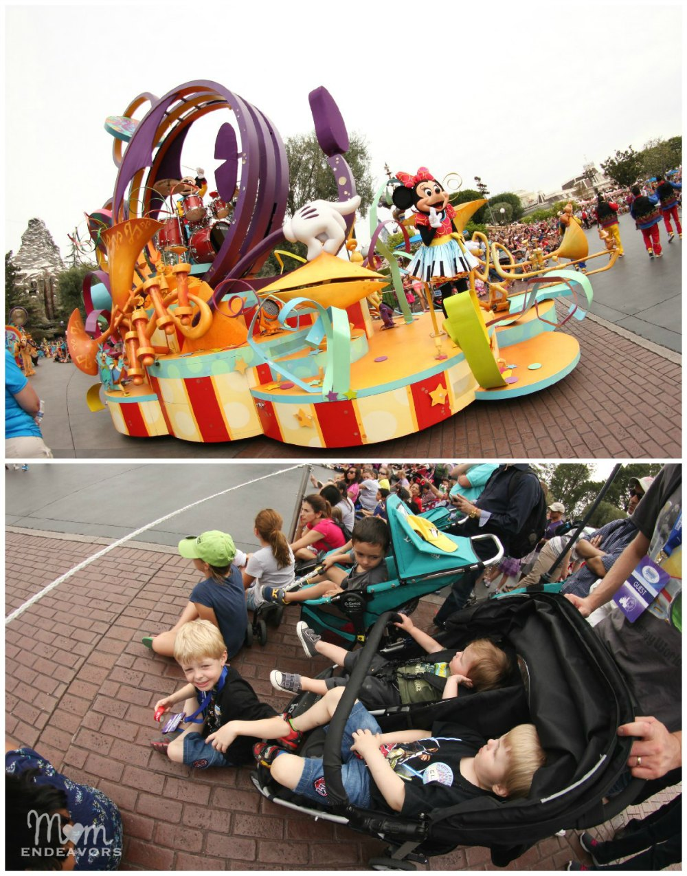 Disneyland Parade Watching