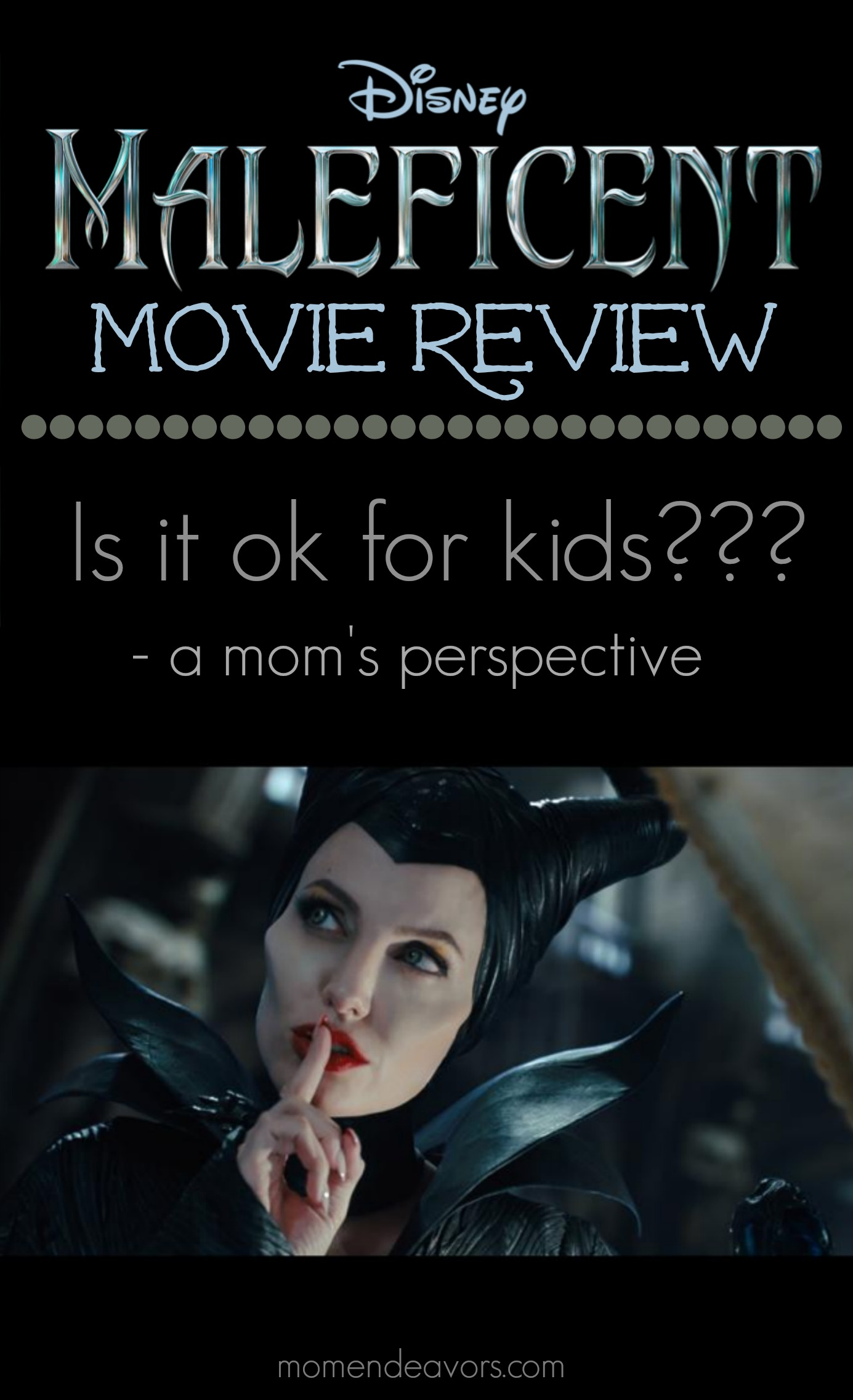 Disney's Malificent - is it ok for kids