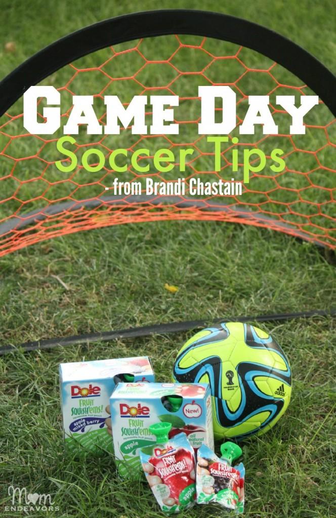 Game Day Soccer Tips