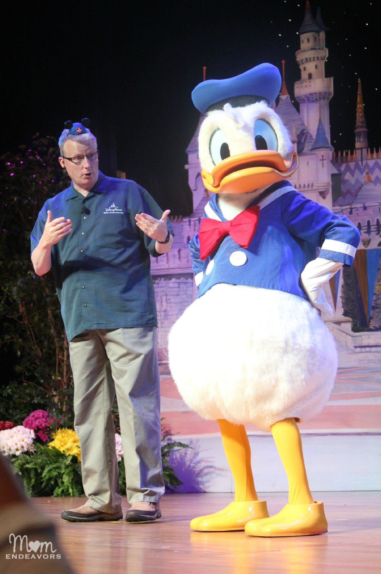 Gary & Donald Duck #DisneySMMoms