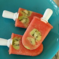 Kiwi Watermelon Popsicles