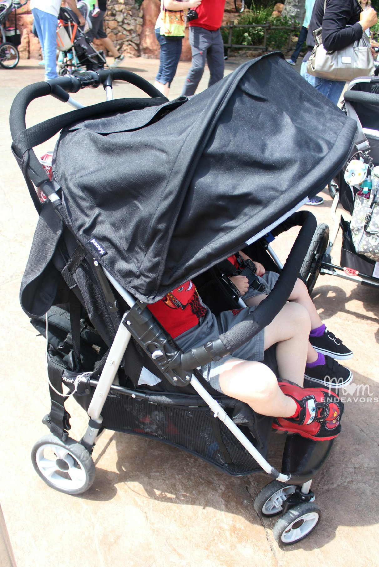 Joovy Double Stroller Car Seat Adapter