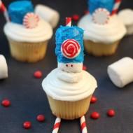 Marshmallow Creme Marshal Mallow Cupcakes – #LegendsofOZ