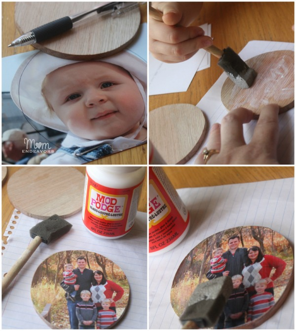 Making photo coasters