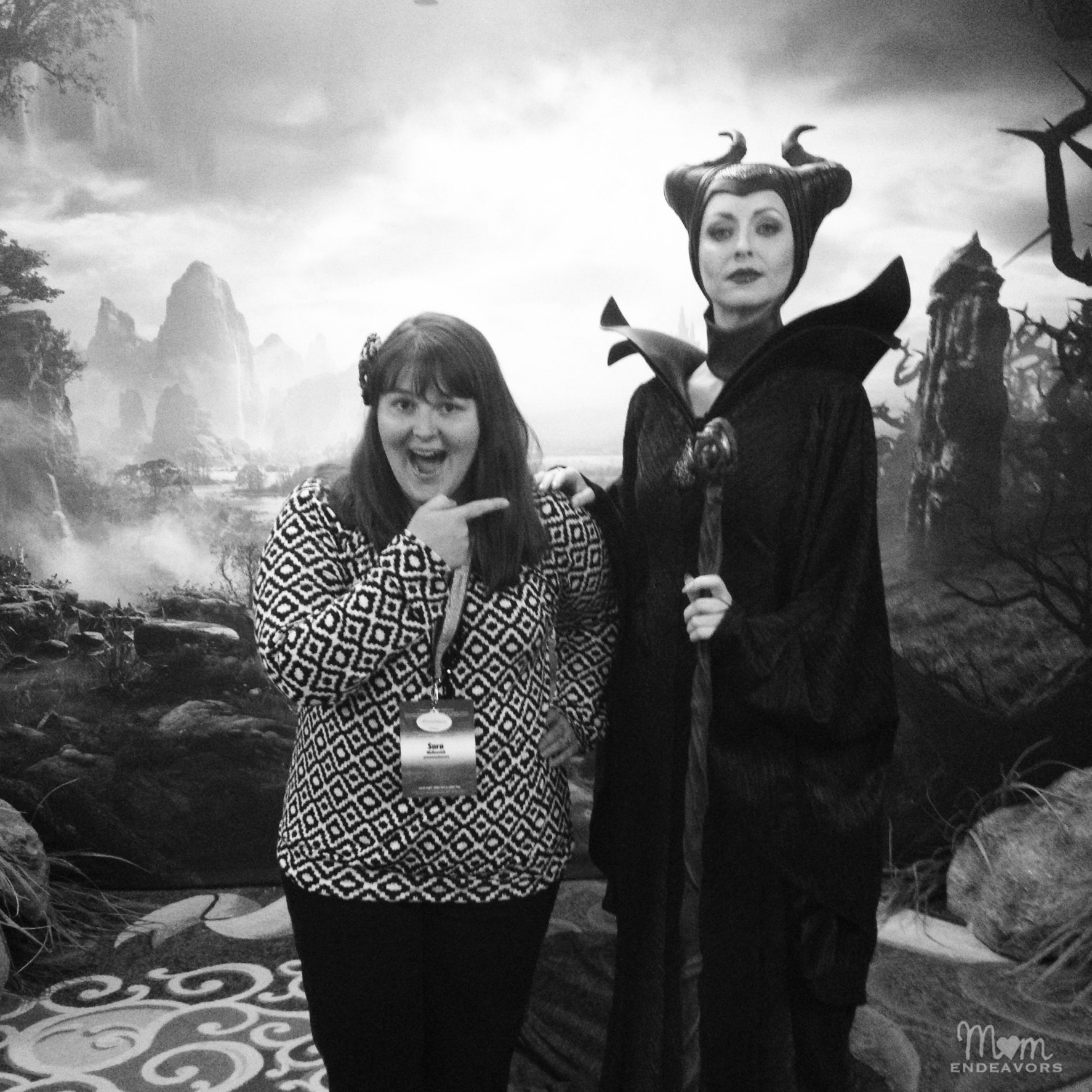 Maleficent at Disneyland