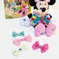 DIY Interchangeable Snap Bow Necklace {Disney's Minnie in Paris}