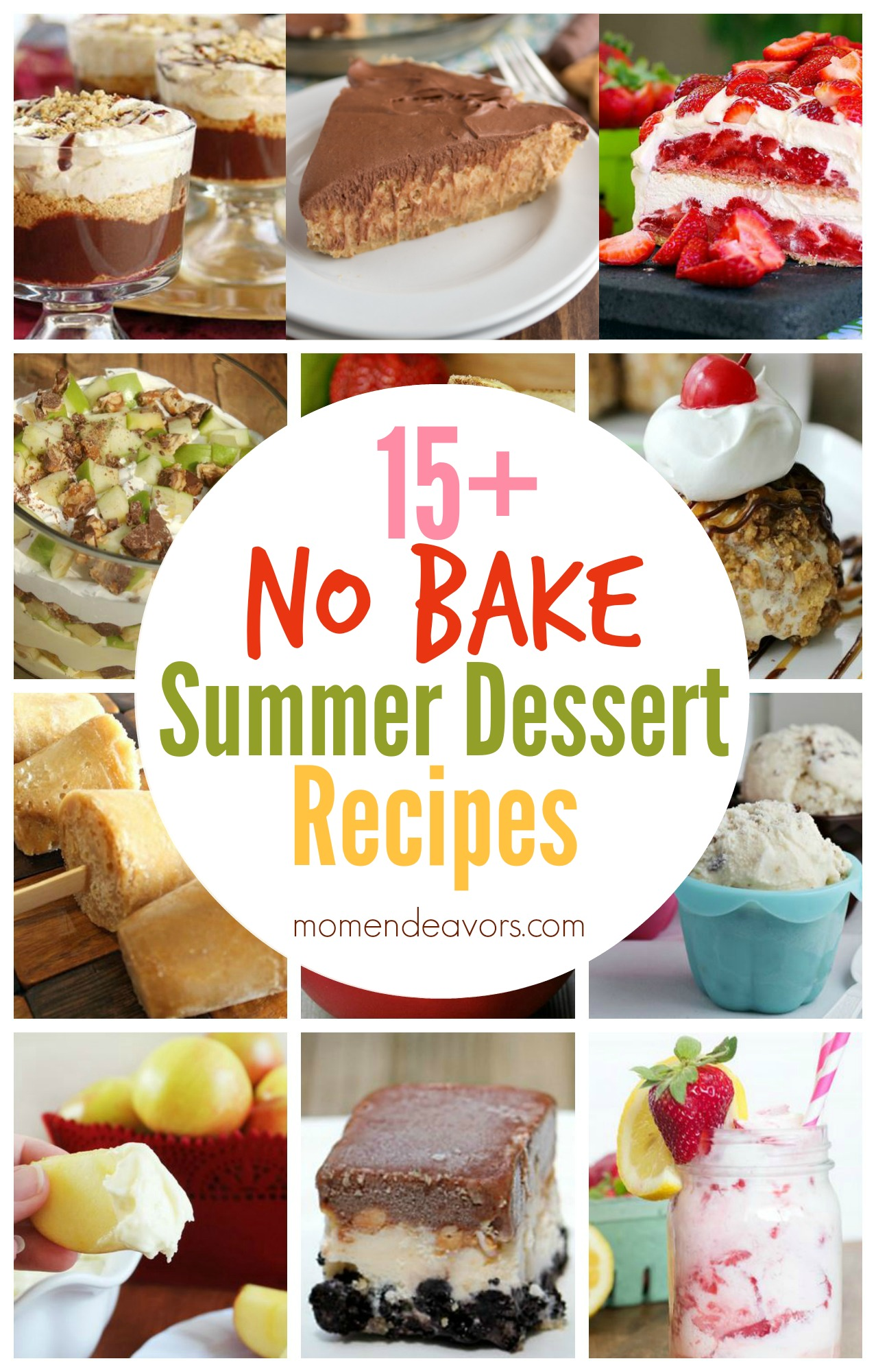 No Bake Summer Dessert Recipes