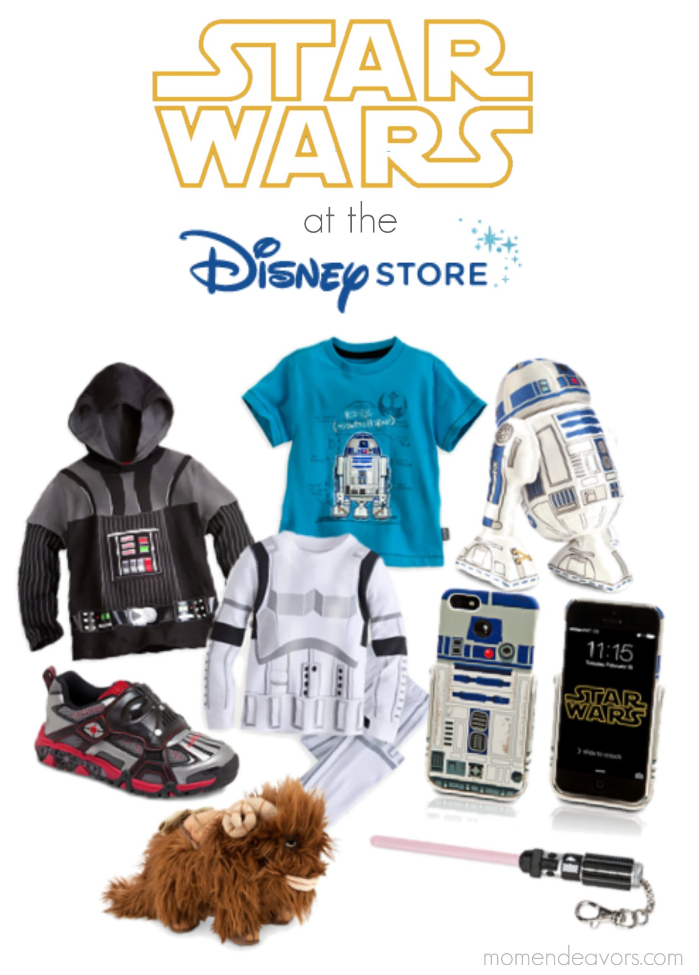 Star Wars at the Disney Store