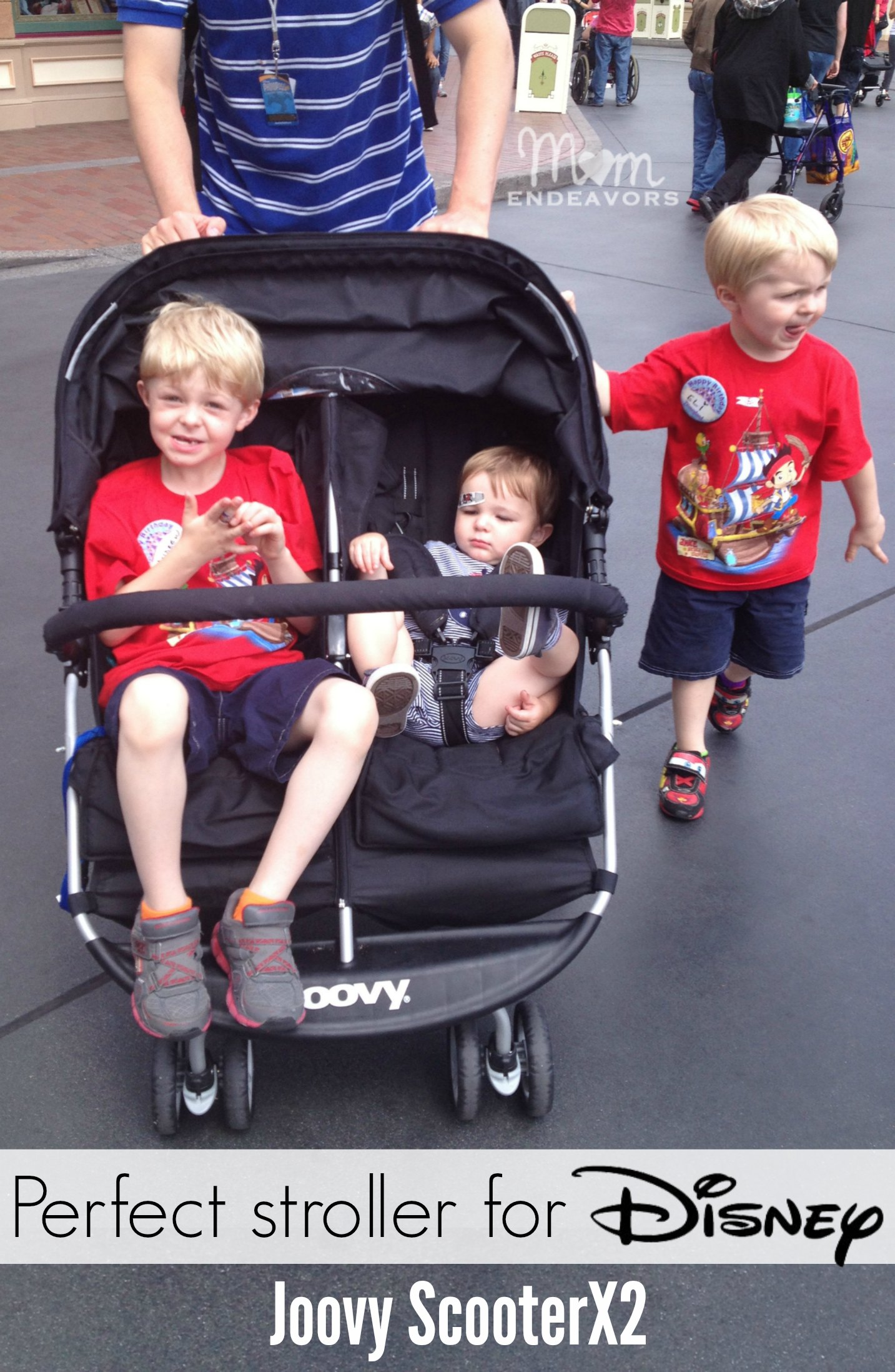 The Perfect Double Stroller For A Disney Trip Joovy