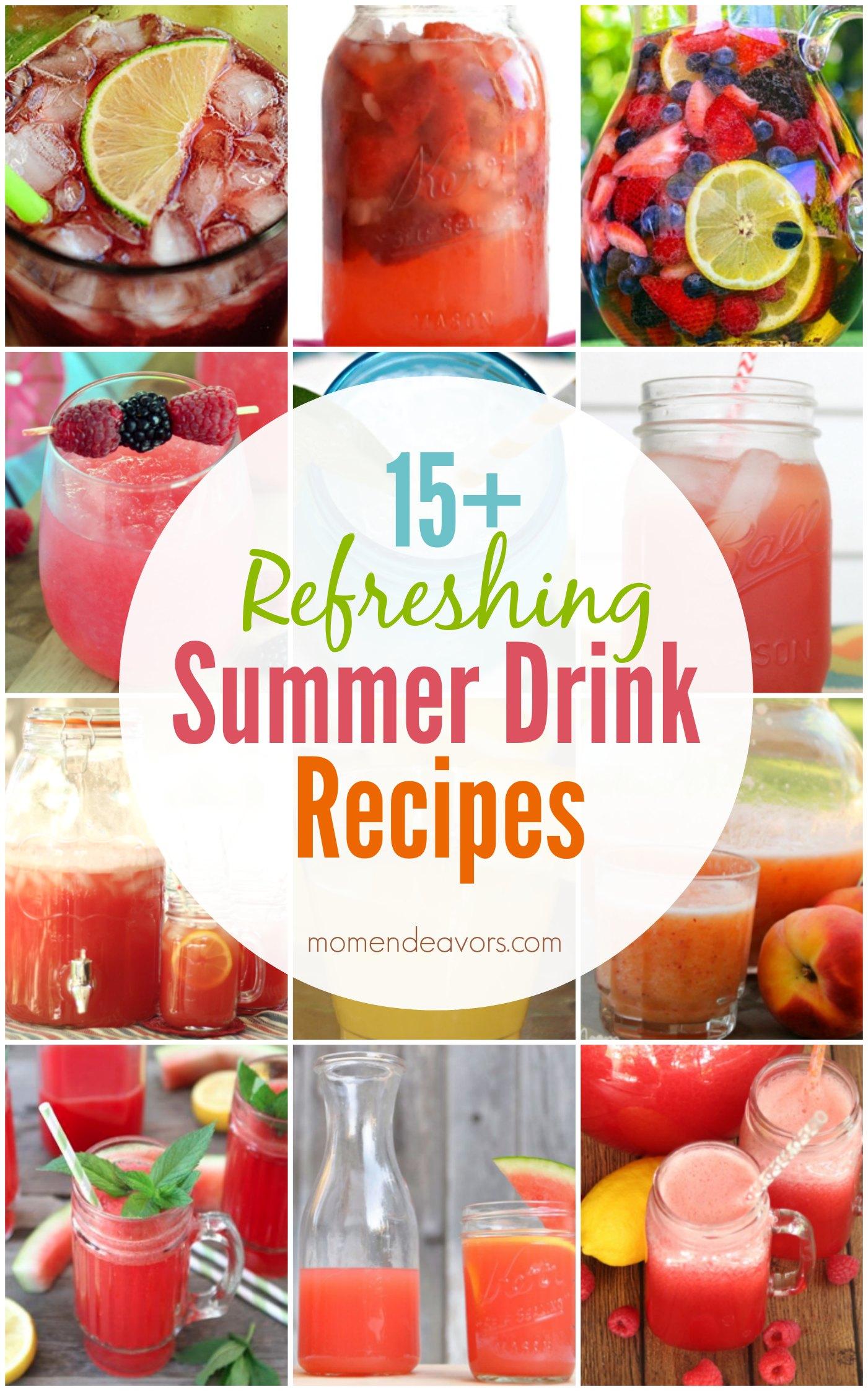 15+ Summer Drink Recipes