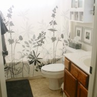 Guest Bathroom Makeover #BHGRefresh