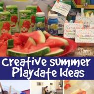 Creative Summer Playdate Ideas!