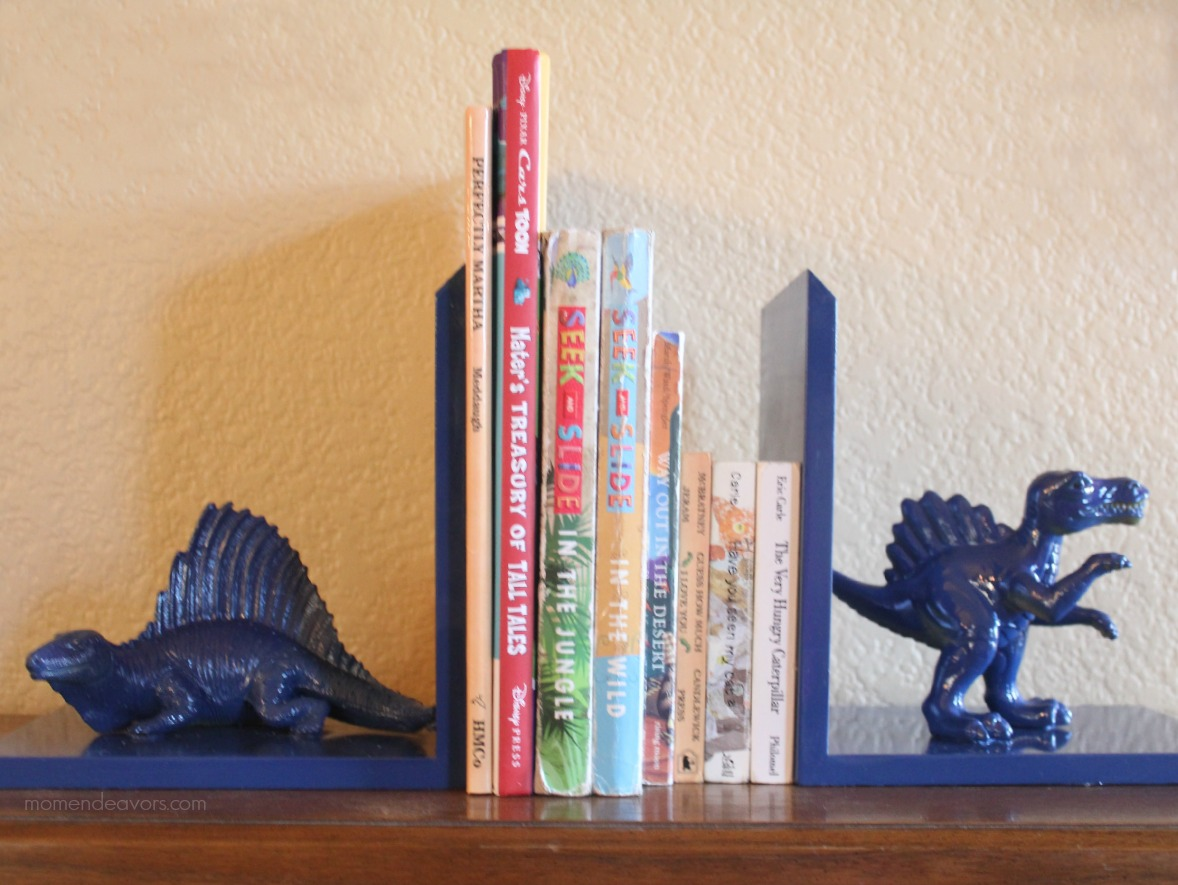 DIY Nursery Bookends
