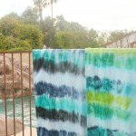 DIY Tie Dye Beach Towels