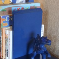 Dinomite DIY Bookends {$50 Target Giveaway}