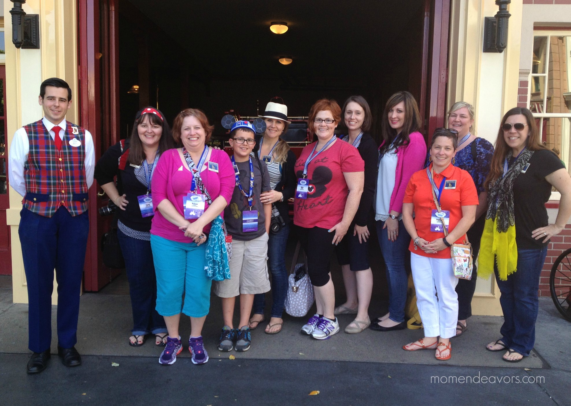 Disney Social Media Moms Disneyland Tour